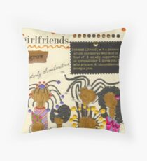 Good Friends Throw Pillow