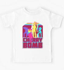 Cherry Bomb (Full) Kids Tee