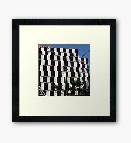 1010 building Melbourne Framed Print