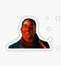 Negan Fanart- Crimson Ver. Sticker