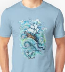 Wow It's a ship Tshirt T-Shirt