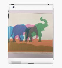 Elephants. iPad Case/Skin
