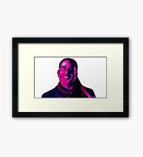 Negan Fanart- Hell Ver. Framed Print