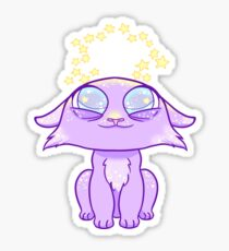 Crowned Cat Sticker