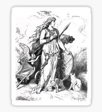 Johannes Gehrts Freya by Johannes Gehrts Sticker