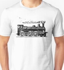 Vintage European Train  Unisex T-Shirt