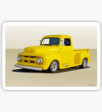 1952 Ford F100 Custom Pickup Sticker