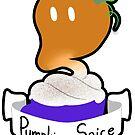Pumpkin Spice Coffee Ghost by Cici Luna