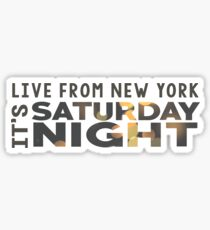 Saturday Night Live (SNL) Sticker Sticker