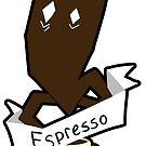 Espresso Coffee Ghost by Cici Luna