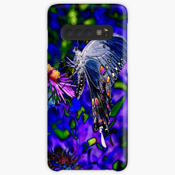Butterfly Blues Samsung Galaxy Snap Case