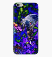 Butterfly Blues iPhone Case