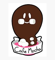 Cafe Mocha Ghost Photographic Print