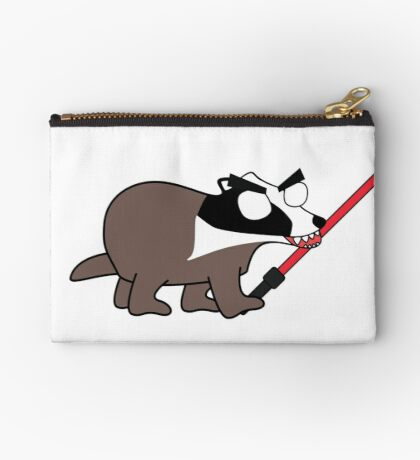 herbert, the angry zombie badger on the dark side Studio Pouch