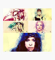 Orphan Black Painting  Photographic Print