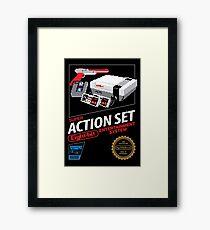 Super Action Set Framed Print