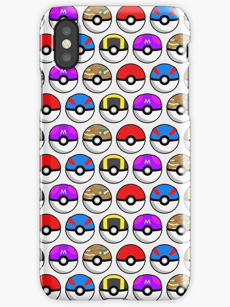 Perfect Pokeball Pattern by goodbyemeow