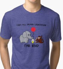 The Elephant Who Lost His Balloon Tri-blend T-Shirt