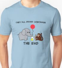 The Elephant Who Lost His Balloon Unisex T-Shirt