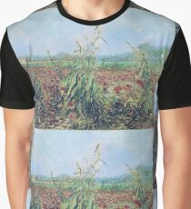 Vincent Van Gogh - Green Ears Of Wheat, 1888 Graphic T-Shirt