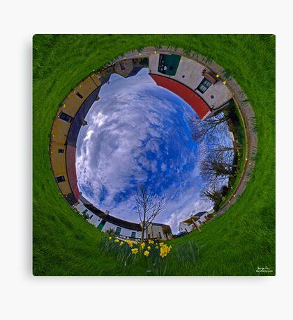 Hanna's Close, County Down (Sunny sky In) Canvas Print