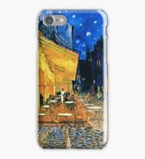 Vincent Van Gogh - Cafe Terrace, Place Du Forum, Arles 1888  iPhone Case/Skin