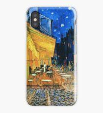 Vincent Van Gogh - Cafe Terrace, Place Du Forum, Arles 1888  iPhone Case/Skin