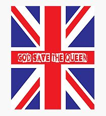 God Save the Queen Photographic Print