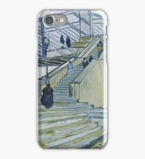 Vincent Van Gogh -  Trinquetaille Bridge, 1888 iPhone Case/Skin