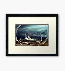 The March of Progress Framed Print