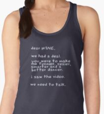 Dear Wine Women's Tank Top