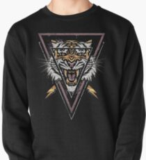 Thee-eyed Tiger Pullover Sweatshirt