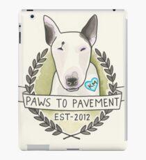 Paws To Pavement Dog Walking San Diego Bull Terrier OG iPad Case/Skin