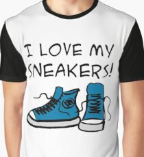 I love my sneakers Graphic T-Shirt