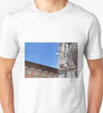 Detail of cathedral from Siena and surrounding building T-Shirt