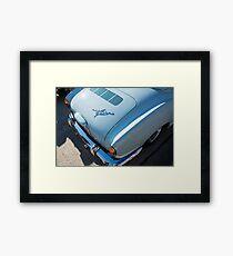 Blue Karmann Framed Print
