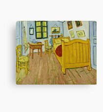Vincent Van Gogh -  Bedroom, October 1888  Canvas Print