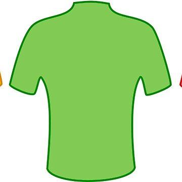 Tour de France jerseys by JoeBike