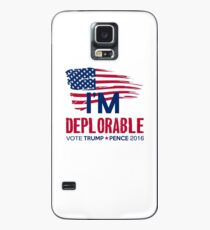 I'm Deplorable Case/Skin for Samsung Galaxy