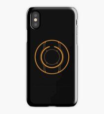 Tron Disc [Orange] iPhone Case/Skin