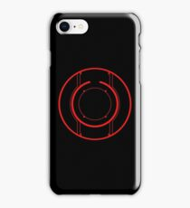Tron Disc [Red] iPhone Case/Skin