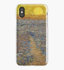 Vincent Van Gogh - Sower With Setting Sun (After Millet), 1888 iPhone Case/Skin