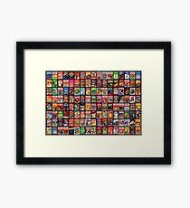 Atari Retro Games Framed Print