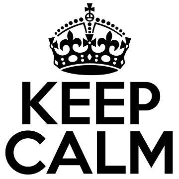 Keep Calm Carry-On Bag by scarl3tt