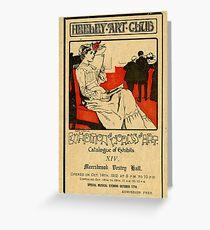 Heeley Art Club catalogue, Sheffield, 1912 Greeting Card