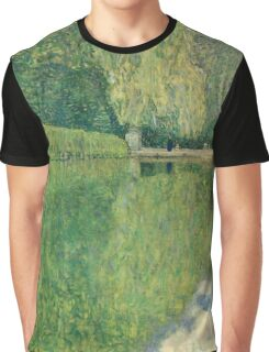 Gustav Klimt - Park Of Schonbrunn Graphic T-Shirt