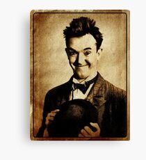 Stan Laurel Vintage Hollywood Actor Comedian Canvas Print