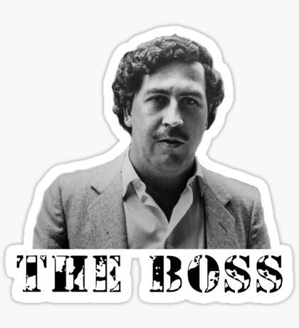 Pablo - The Boss Sticker