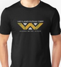 Weyland Yutani - Distressed Yellow/White Variant Unisex T-Shirt
