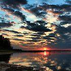 Reflections Of Sundown by Carolyn  Fletcher